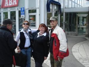 L-R; Johan, me, Kiki, Christian