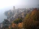 overlooking Montreux