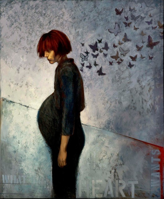 Oil painting by Katherine Fraser , click picture for link to her website for more beautiful artwork